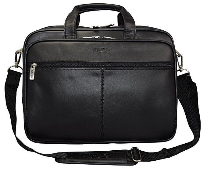"""Kenneth Cole Reaction """"The I Rest My Case"""" Leather Briefcase - best leather briefcases for men"""