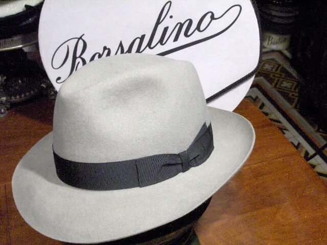 Borsalino fedora - how to wear a fedora