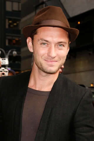 Jude Law - how to wear a fedora