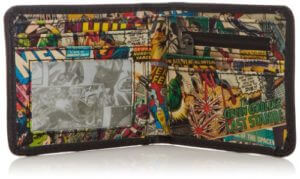 Marvel Comics Interior Retro Print Wallet - awesome wallets for men
