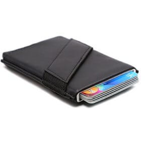 Aluminum Pop-up Credit Card Holder