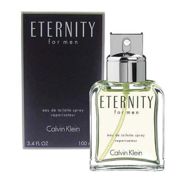 Calvin Klein Eternity - best mens cologne of all time